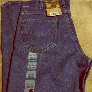 Carhartt men's relaxed fit jeans size 33x30